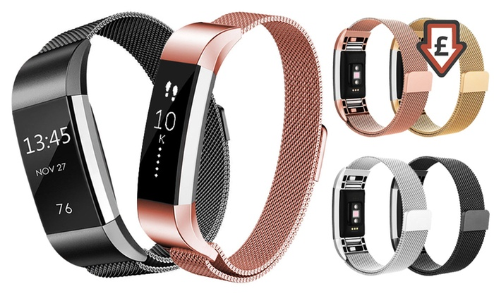 Replacement Straps for Fitbit Alta or Fitbit Charge 2 From £8.99