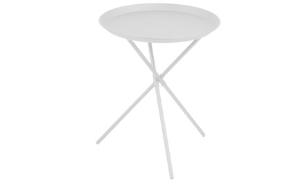 Tavolino rotondo in metallo Selsey