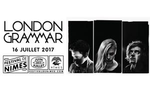 Adam concerts: 1 place en catégorie 2 ou 1, placement libre ou place numérotée, pour London Grammar, dès 24 € aux Arènes de Nîmes