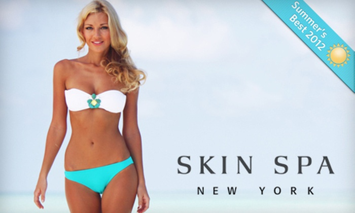 Skin Spa - Multiple Locations: Three or Six Laser Hair-Removal Treatments at Skin Spa. 7 Locations. (Up to 80% Off)