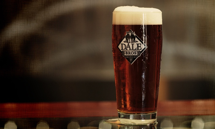 Dale Bros Brewery - Foothill Boulevard Corridor East: Steal the Glass Package for Two or Four With Beers and Souvenir Glasses at Dale Bros Brewery (42% Off)