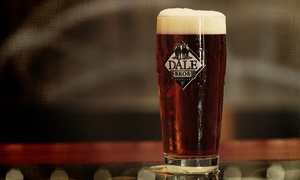 Dale Bros Brewery: Steal the Glass Package for Two or Four With Beers and Souvenir Glasses at Dale Bros Brewery (42% Off)