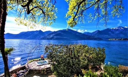 Lago Maggiore 4*: camera o appartamento per 2 o 4, cena e Spa a 72€euro