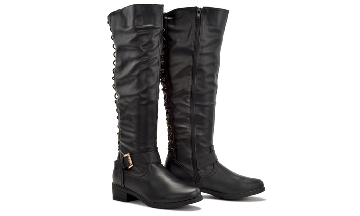 cbbb3a02974 Sociology Fifi Women s Back Lace-up Boots