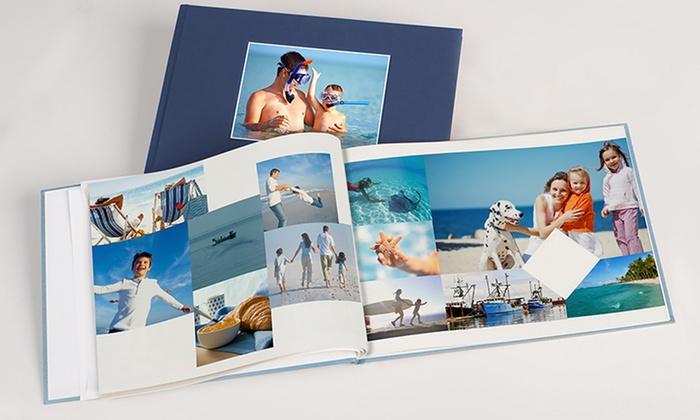 Custom Debossed Hardcover Photobook from Photobook Canada