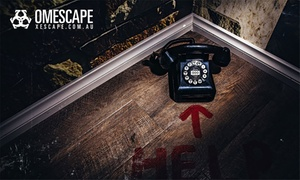 Omescape: Escape Room Challenge for Two ($49), Four ($98) or Ten Players ($245) at Omescape, North Melbourne (Up to $490 Value)
