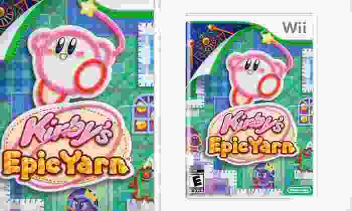 Kirby's Epic Yarn for Wii: $6.99 for Kirby's Epic Yarn for Wii ($49.99 List Price). Free Returns.