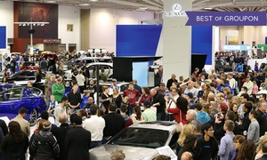 Up to 54% Off Admission at the Twin Cities Auto Show at Twin Cities Auto Show, plus 9.0% Cash Back from Ebates.