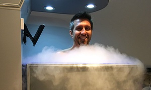 One, Three, Or Five Whole-body Cryotherapy Sessions At Edmond Cryotherapy (up To 50% Off)