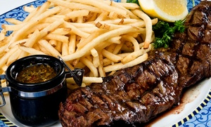 Sarna's Classic Grill: Dinner and Drinks for Two or Four at Sarna's Classic Grill (Up to 49% Off)
