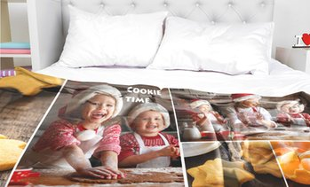 Up to 94% Personalized Standard Photo Blankets from CanvasOnSale