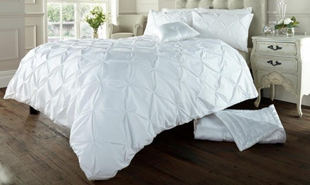 Soft Touch Pin Tuck Duvet Set