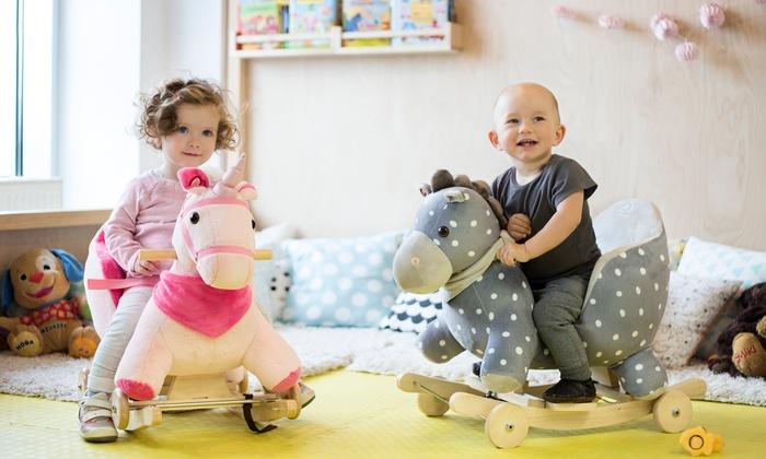 Cavallo A Dondolo Con Ruote.Fino A 49 Su Cavallo A Dondolo Kinderkraft Groupon