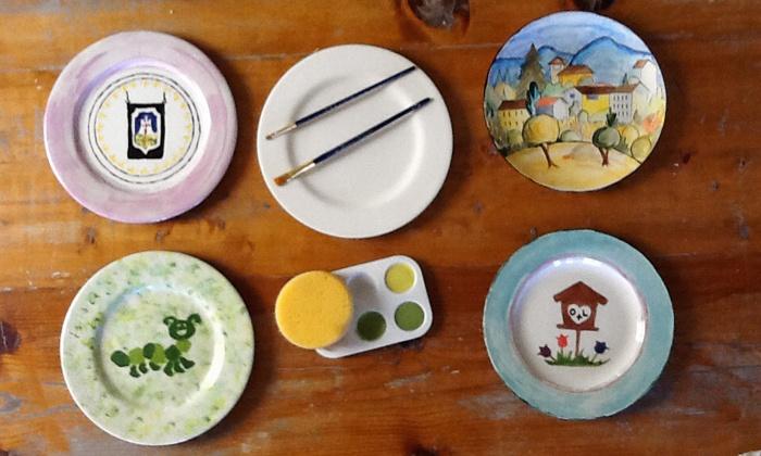 Paint Your Own Pottery - Fairfax: $22 for Two Groupons, Each Good for a Visit to Paint Your Own Pottery ($44 Value). Two Options Available.