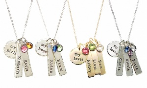 Up to 55% Off Engraved Necklace Made with Swarovski Elements at ByHannahDesign, plus 6.0% Cash Back from Ebates.