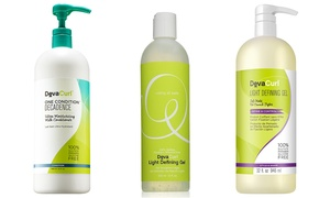 DevaCurl Decadence One Condition, Light Defining Gel, or Cleanser