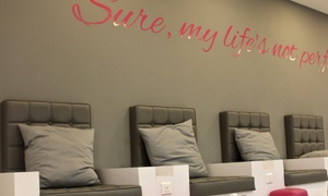 Blo Out Beauty Bar: Acrylic Nail Extensions with Classic or Gelish Polish at Blo Out Beauty Bar (Up to 55% Off)