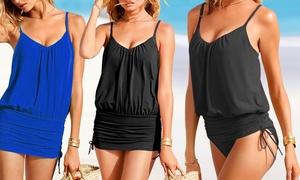 Maillot 2 en 1 transformable robe