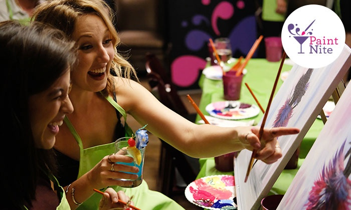 Paint Nite - North Jersey: Two-Hour Social Painting Event from Paint Nite (Up to 46% Off)