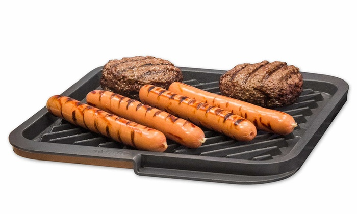 Up To 50 Off On Gotham Steel Double Sided Grill Groupon