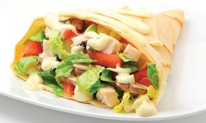 Crepe Delicious: CC$11.50 for Two Savoury Crepes at Crepe Delicious (Up to CC$17.90 Value)