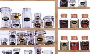 Étiquettes amovibles de cuisine