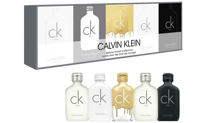 Up To 60% Off on Calvin Klein Scent Mini Gift Set | Groupon Goods