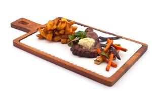 Vistula Port : Stek lub sandacz z dodatkami dla 1 osoby za 45,99 zł i więcej opcji w restauracji Vistula Port (do -36%)
