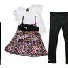 Pogo Girls' Leggings Outfit Sets (3-Piece)