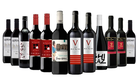 $69 for a Cozy Winter Mixed Red Wine 12Pack Don't Pay $249