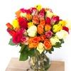 Bouquet et chocolats à offrir