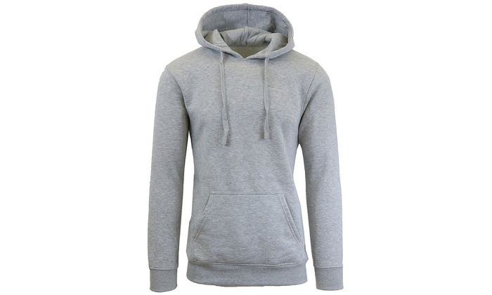 85% Off on Men's Fleece Lined Hoodie | Groupon Goods