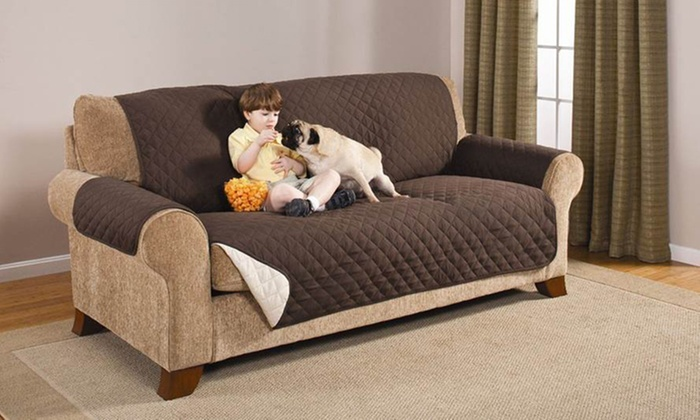 Large Protective Pet Couch Cover Groupon