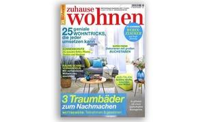 Eventus Media GmbH: Halbjahres-Abo (6 Ausgaben) der Zeitschrift zuhause wohnen (77% sparen*)
