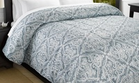 Lightweight Microfiber Comforter. Multiple Styles Available