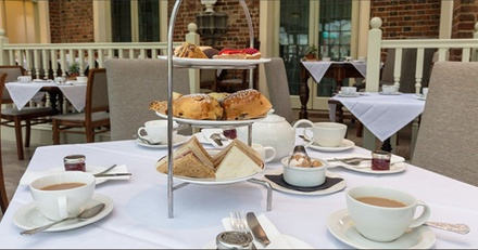 Royal Afternoon Tea with Optional Bubbly for Two or Four at The Winchester Royal Hotel