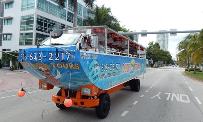 Up To 12 Off From Duck Tours South Beach