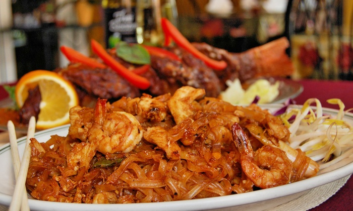 Thai Orchid Restaurant - Strawberry Hill Shopping Center: $16 for $30 Worth of Thai Food at Thai Orchid Restaurant