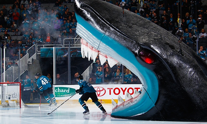 San Jose Sharks - SAP Center: San Jose Sharks Games and On-Ice Photo -Three Games to Choose From (February 13–March 20)
