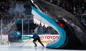San Jose Sharks: San Jose Sharks Games and On-Ice Photo -Three Games to Choose From (February 13–March 20)