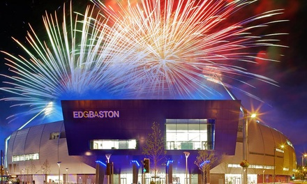 Edgbaston Fireworks Spectacular, Standard or VIP Ticket, Saturday 3 November at Edgbaston Stadium