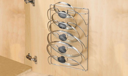 iMounTEK Mounted Pot Lid Rack Organizer