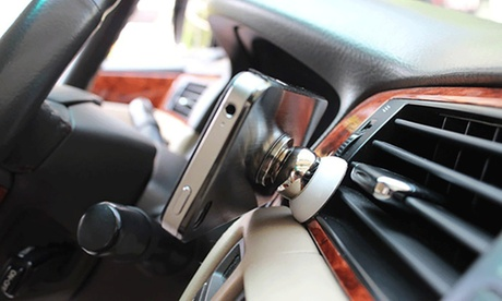 Soporte magnético giratorio para móvil