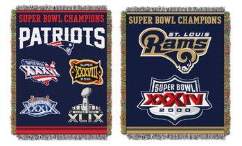 "Northwest NFL 60""x48"" Commemorative Series Woven Tapestry Throw"
