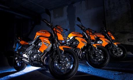 Curso para el carné de moto AM, A1 o A2 para 1 o 2 con clases prácticas desde 39,90 € en 30 centros de Autoescuela Lara