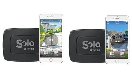 Dispositivo apri cancelli e garage tramite smartphone, disponibile in 2 modelli