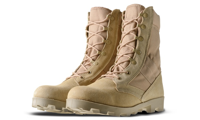 AmeriTac Mens Outdoor Combat Work Boots Groupon