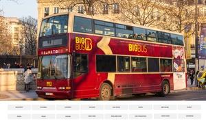 Big Bus Tours: Réduction de 15% sur le site Big Bus Tours pour des visites touristiques en bus découvert dans 19 villes du monde !