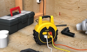 Stanley ShopMax Power Hub 20 Foot, 4 Outlet Cord Reel