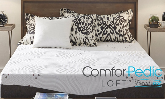 Comforpedic Loft 12 Quot Premium Nrgel Memory Foam Mattress